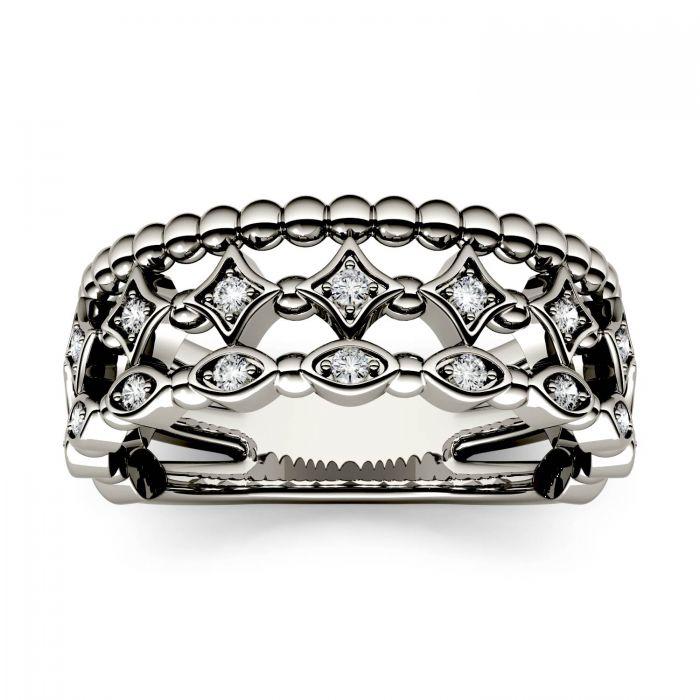 geometric stack ring